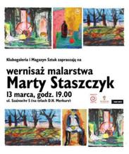 Wernisaż malarstwa Marty Staszczyk