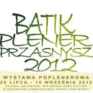 Poplenerowa wystawa batiku w Przasnyszu