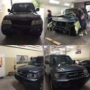 Collision damage repair ! Just in Bumper