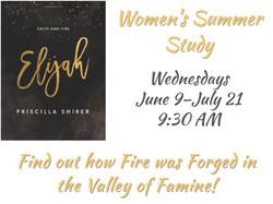 Women's Ministry Summer Bible Study