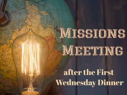 Missions Team Meeting