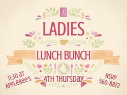Ladies Lunch Bunch