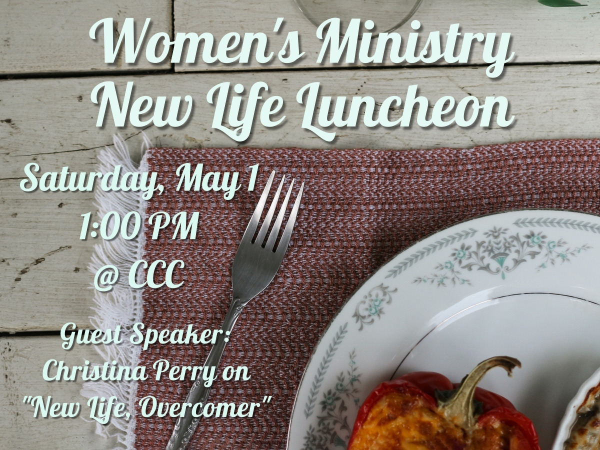 Women's Ministry New Life Luncheon