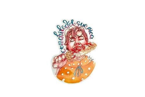 Sticker Chile del que pica Vanila Ryder