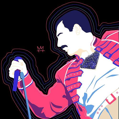 Print Freddie Mercury