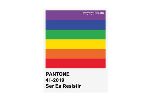 Sticker Pantone Pride Rey