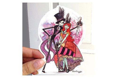 Sticker Extraño Mundo de Jack Vanila Ryder