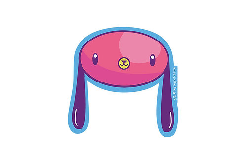 Sticker Chacha Rey