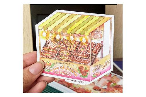 Sticker Pan de Feria Vanila Ryder