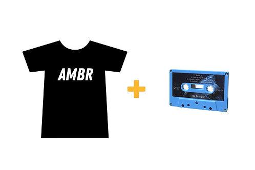 Pack de Playera y Cassette AMBR