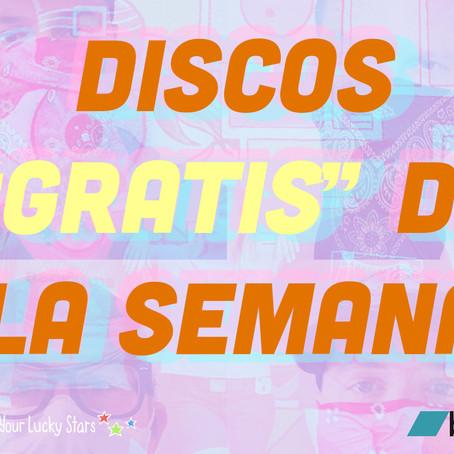 "Discos ""gratis"" de la semana"