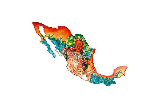 Sticker México Vanila Ryder