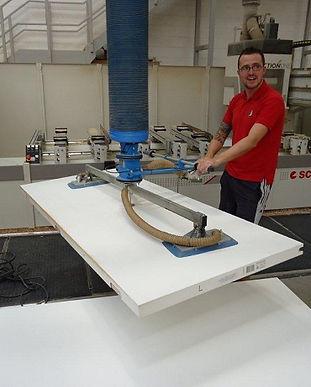 Panel lifting