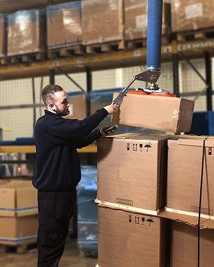 Logistics lifting system