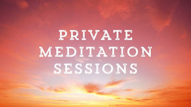 Private Meditation Session Website Graph