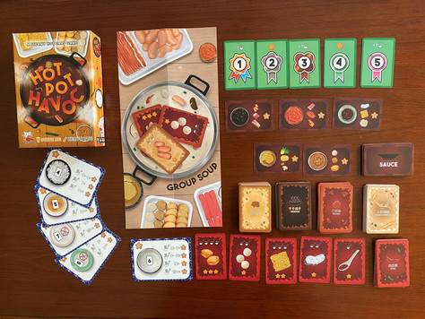Mercat Games Launches Hotpot Havoc Card Game for Retail Sale.