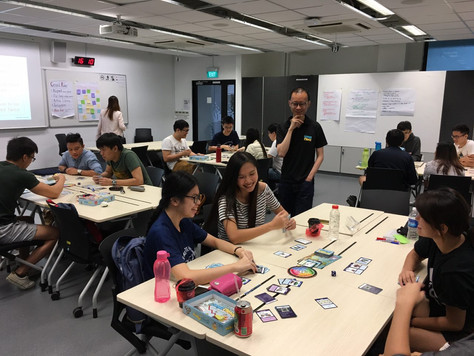 Wongamania @ Singapore Institute of Technology