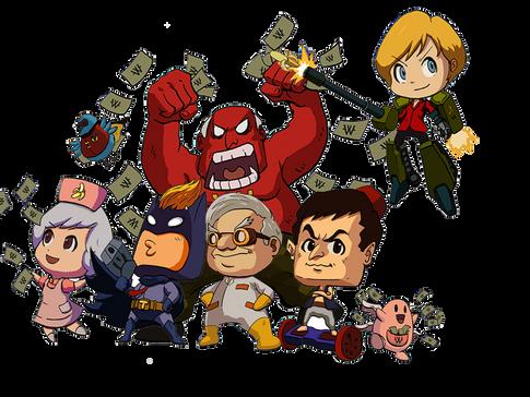 Debtzilla - Game Design Diary Part III: Hero Design