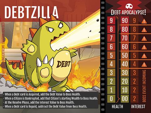 Debtzilla - Game Design Diary Part II: Money Mechanics