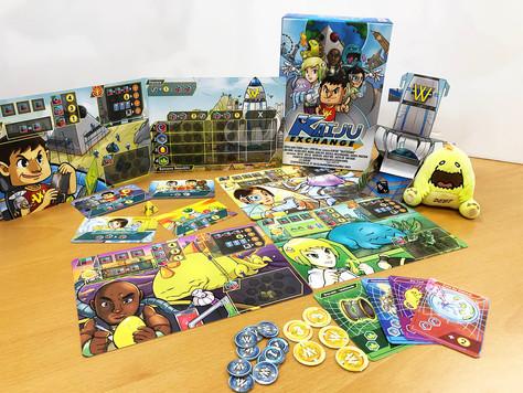 Capital Gains Studio launches Kaiju Exchange Board Game on Kickstarter