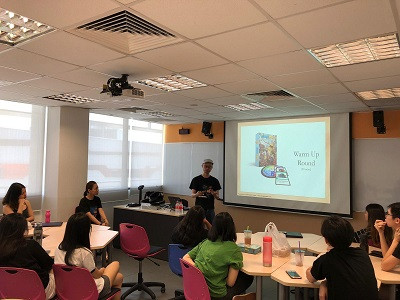 Sharing Session at Ngee Ann Polytechnic