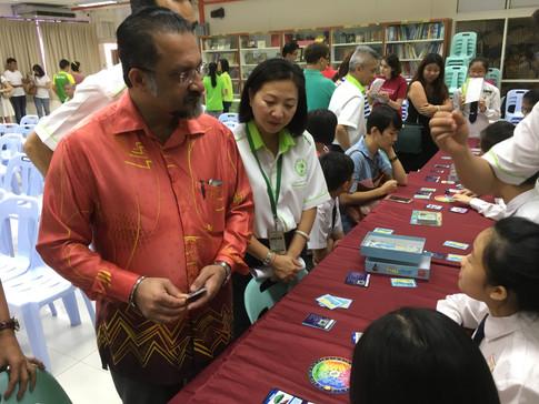 Wongamania @ Han Chiang High School