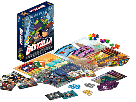 5 Life Lessons you can learn from Debtzilla Board Game