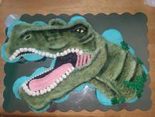 Dino pull apart cupcakes
