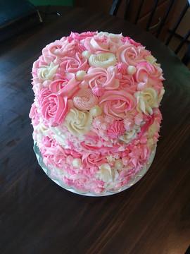 Rosettes cake
