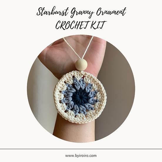 Starburst Granny Ornaments - DIY KIT