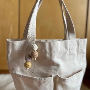 """A """"pattern recipe"""" - Crochet Wooden Bead Charm"""