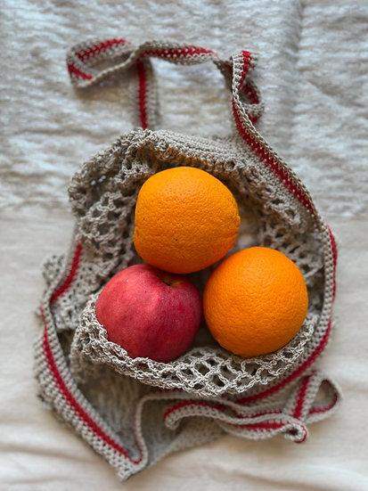 Reusable Cotton Net Bag