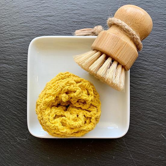 Roll-Up Dish Scrubby Sponge
