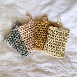 Mesh Soap Saver Crochet Pattern (free)