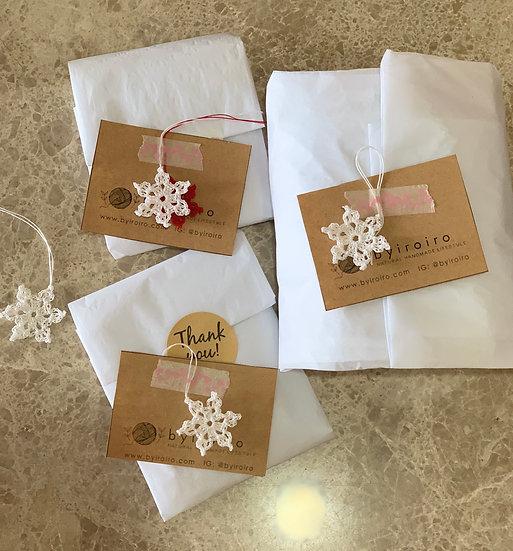JOY Snowflakes (set of 5)