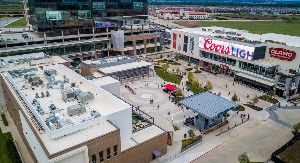 Toyota Music Factory Lottery Plaza