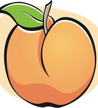 Vector-Icon-of-a-Peach-Fruit-Isolated-on
