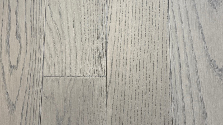 Oak engineered  click  Smoke Grey 5 inch width x3/8