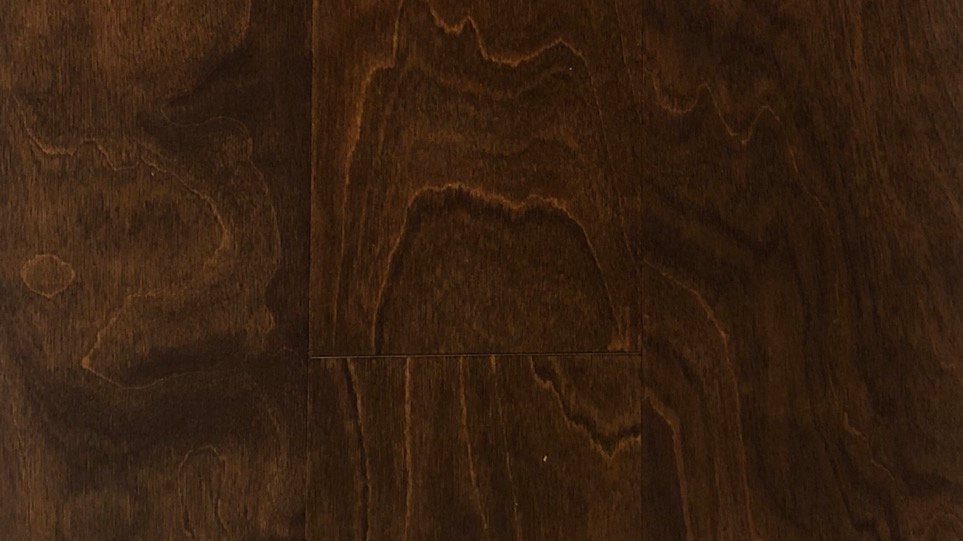 Engineered flooring click maple French roast 6 inch wide and 1/2 thickness