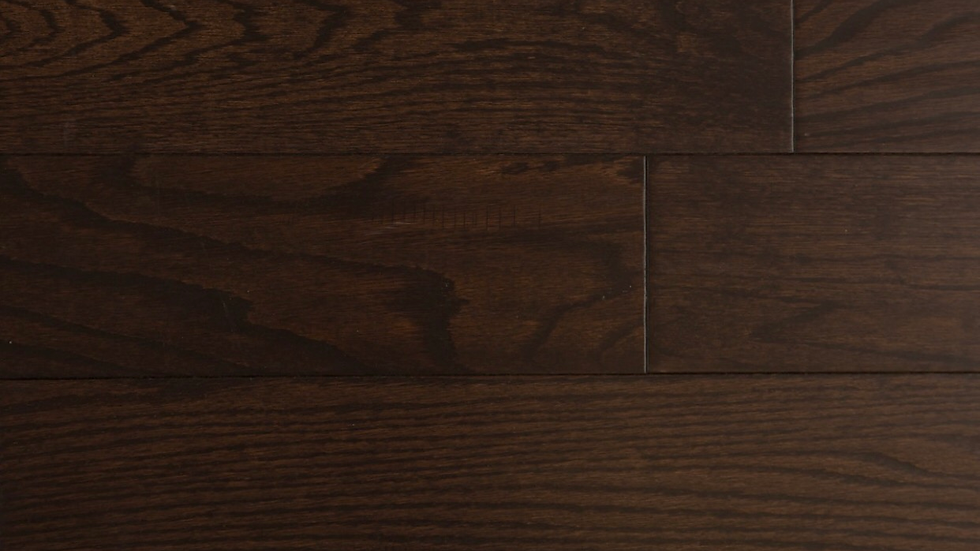 AMERICA OAK Black Brown 6 inch width and 3/4 thickness