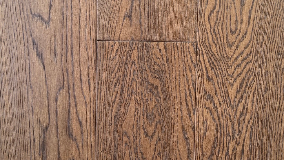 Oak Engineered Hardwood 61/2 inch and 3/4  Sandy Brown