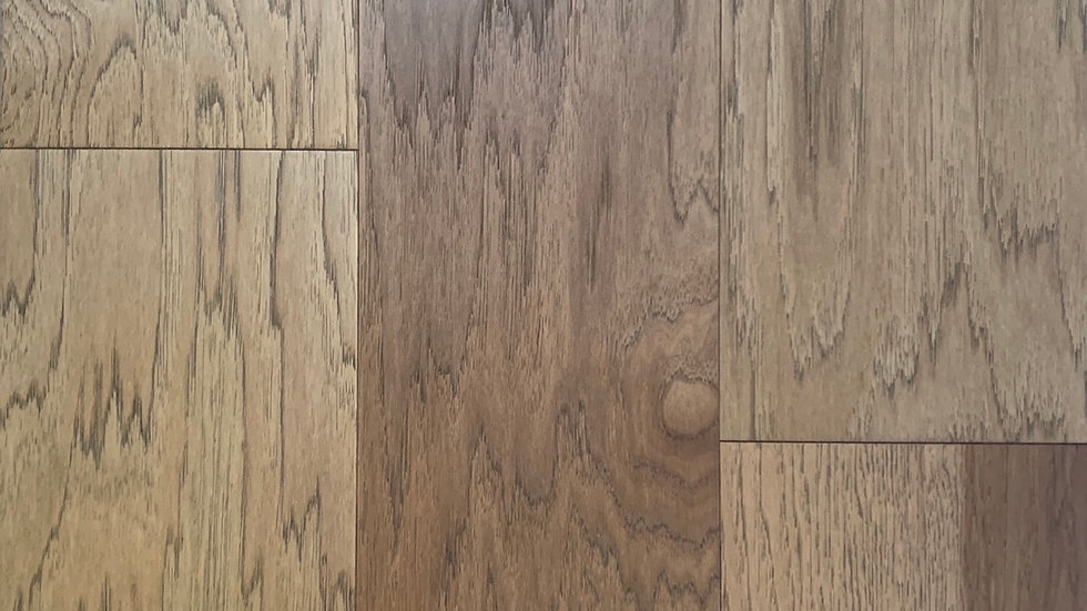 Engineered hardwood hickory 7 1/4 width x3/4 colour Bayshore
