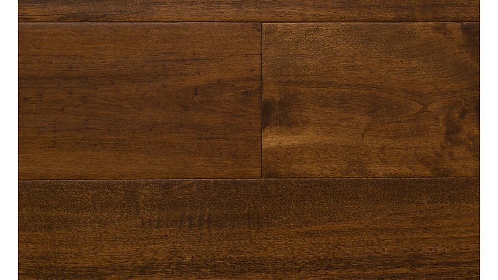 4-3/4 inch wide Solid Maple French Roast