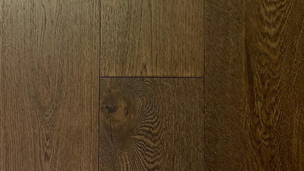 Engineered hardwood white oak colour :Irish Tea  6 1/2x3/4
