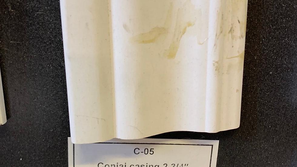 Colonial door casing 2 3/4