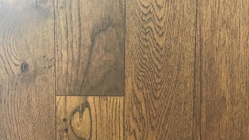Hazelnut oak click 6 inch x1/2 thickness engineered hardwood