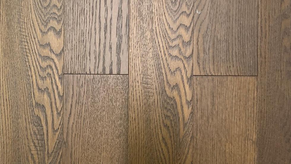 Engineered hardwood click 4.7 width x3/8 colour antelope
