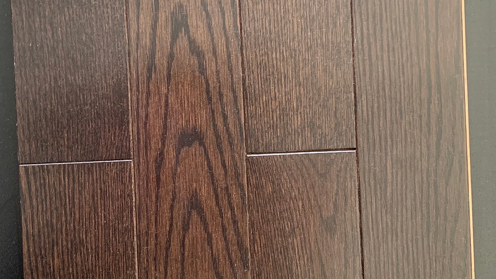 SOLID HARDWOOD RED OAK SELECT/BETTER  COLOR TRUFFLE
