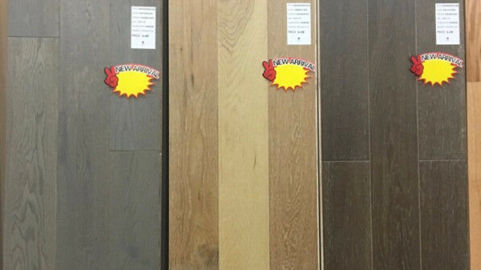 Engineered hardwood 5 inch wide 3/8thickness