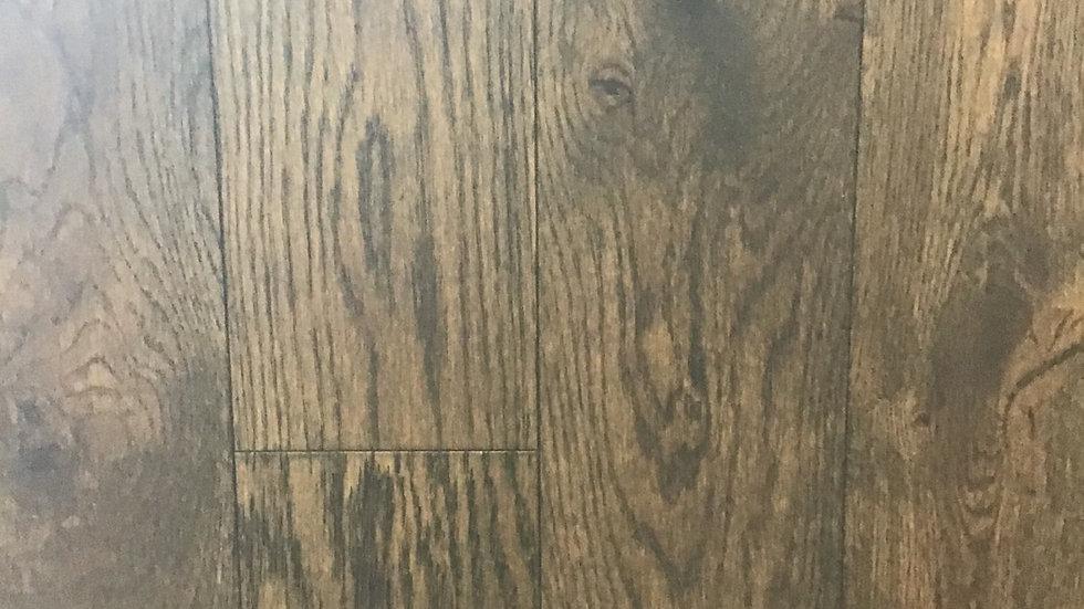 Coffee Oak Click 6 inch x1/2 thickness Engineered hardwood